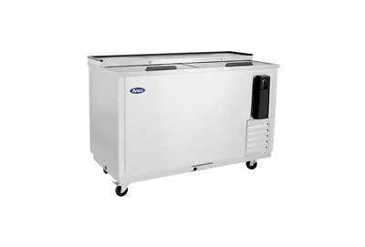 New 50in Deep Well Horizontal Bottle Cooler Stainless Free Shipping & Lift Gate
