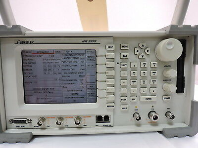 Aeroflex P25 Wireless Radio Test Set, IFR2975, With Remote CAL.