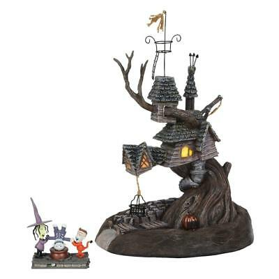 NEW Dept 56 The Nightmare Before Christmas Lock, Shock, and Barrel Treehouse