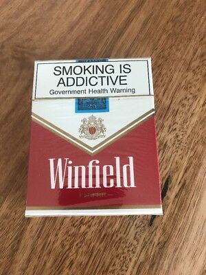 Vintage Winfield Red Cigarette Pack