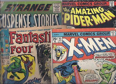 Silver & Bronze age Comics 8 Comic Lot   CHEAP!!!