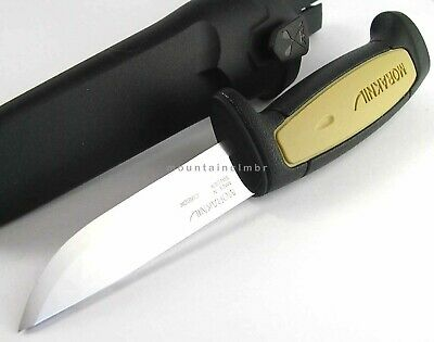 Mora Morakniv Basic 511 Skinner Carbon Steel Knife Sweden BLACK TAN