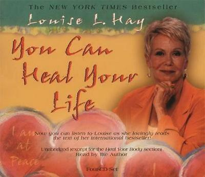 NEW You Can Heal Your Life By Louise L. Hay Audio CD Free Shipping