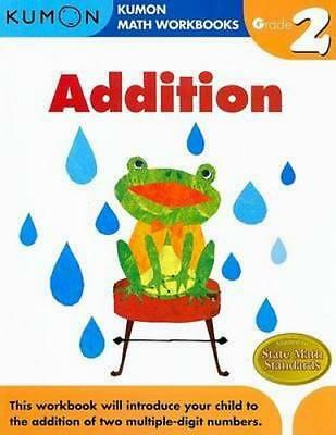 NEW Grade 2 Addition By KUMON PUBLISHING Paperback Free Shipping