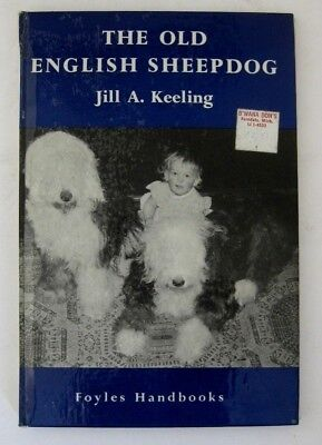 RARE OLD ENGLISH SHEEPDOG DOG BOOK BY JILL KEELING 1965 issue ILLUSTRATED