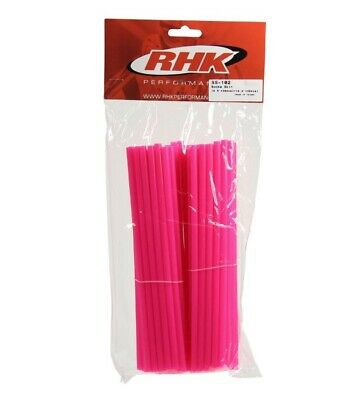 Husqvarna Te510 Rhk Front & Rear Wheel Spoke Wraps Covers - Pink Husky