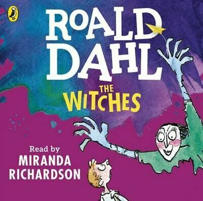 NEW The Witches By Roald Dahl Audio CD Free Shipping
