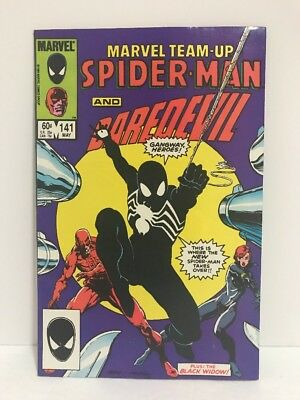 Marvel Team-Up #141 VF-NM 1st Black Suit Symbiote Appearance 1984