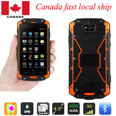 """LAND ROVER  Android 3G SmartPhone Unlocked 4.5"""" Discovery V9 Rugged Waterproof"""
