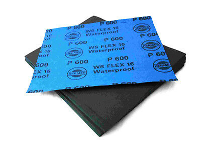Wet And Dry Sandpaper 2000Grit 5 Sheets 230 X 280Mm Waterproof Paper Highest Qua