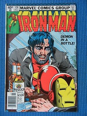 Invincible Iron Man # 128 - (Vf/nm) - Demon In A Bottle - Alcohol Issue