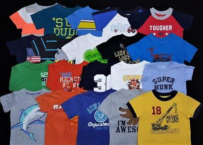 Baby Boy 6/9 Months Shirts T-Shirts Clothes Lot Free Shipping!