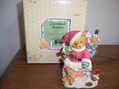 Cherished Teddies~Kris~Limited To Year Of Production