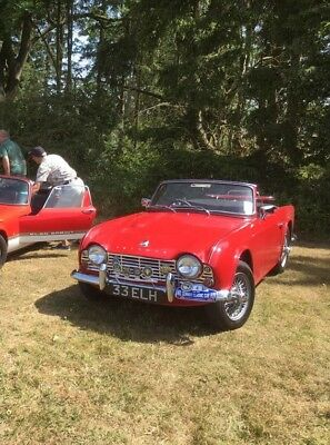 Triumph TR4 1962 UK Car