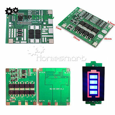 3S 12V 12A/25A/30A 18650 BMS Li-ion Battery PCB Protection Board AHS