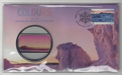PNC - FDC - Colours of the AAT - Coin & Stamp Set - 25/05/2015
