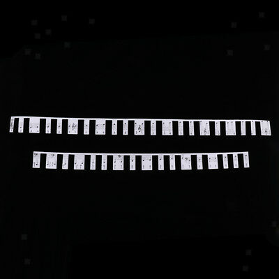 Grand Piano Key Paper Stave Note Label Sticker Card for Kids Beginners