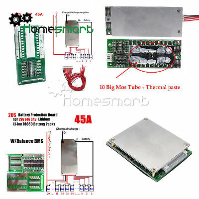 3/4/13/16/20/24S BMS PCB Protection Board  Used for 18650 Lithium Battery AHS