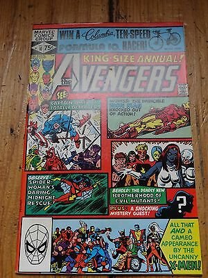 Avengers king size annual #10