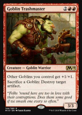 Goblin Trashmaster Magic 2019 MtG