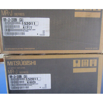 New Mitsubishi MR-J3-200BN AC Servo Driver In Box