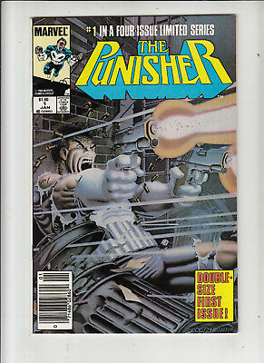 The Punisher #1 (Marvel 1985)  1.50 Canadian Newsstand Price Variant VF/NM