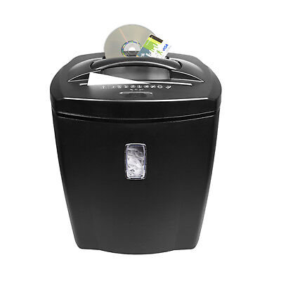 21L Professional Paper Shredder Office Heavy Duty CD Credit Card Shredder Tracer