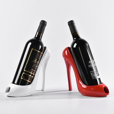 High Heel Shoe Wine Bottle Holder Stylish Wine Rack Gift Basket for Home Decor