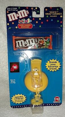 M&M's Yellow Character Minis Candy Hander Dispenser