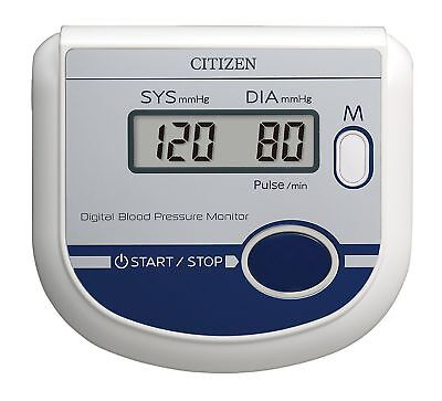 Citizen CH-432 Digital Arm Blood Pressure Monitor BP Monitor Free Worldwide Ship