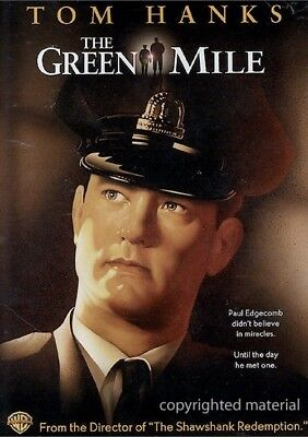 The Green Mile. Widescreen Edition. DVD (2007, WB) Tom Hanks & Michael C. Duncan