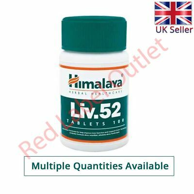 Himalaya Herbal LIV52 LIV 52 LIV.52 Liver Care Digestion Detoxifier Tablets
