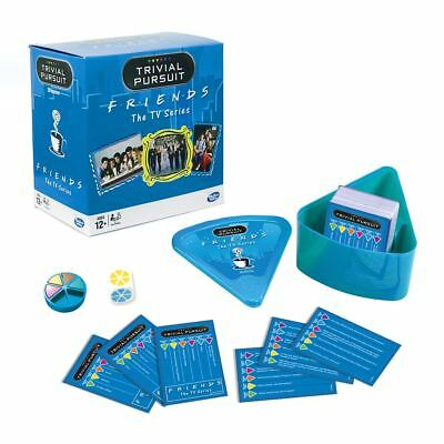 New Friends The TV Series Trivial Pursuit Family Game Winning Moves Official