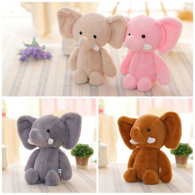 Mini Elephant Stuffed Animals Soft Doll Plush Toy For Kids Baby Xmas Gift tall