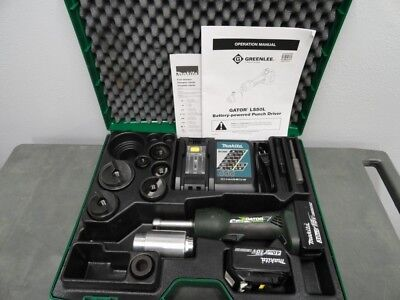 """Greenlee LS50L11 LS50L 18V Battery Punch Driver Knockout Tool Kit 1/2"""" - 2"""""""