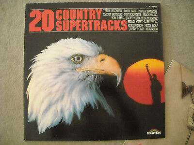 2 LPs,COUNTRY MUSIK, TRACKS (aus Nachlass)