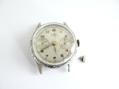 Planesa Watch Chronograph Venus ? Landeron Armbanduhr,no Funktion,Repair,Parts