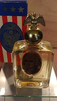 Avon Collectible Cologne BottleGeorge Washington with TributeAfter Shave