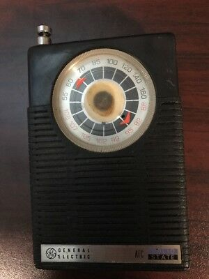 Vintage General Electric GE AFC Solid State Transistor Pocket Radio AM/FM