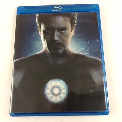 Iron Man Blu-ray Disc, 2008, 2-Disc, Ultimate Edition Marvel Robert Downey Jr.