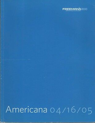 Freeman's Americana -AUCTION CATALOGUE-furniture, art- 04/16/05-1/3 OFF!