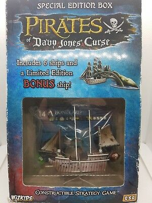 Wizkids Pirates Special Edition Box, Davy Jones Curse with Boneyard Ship, Sealed