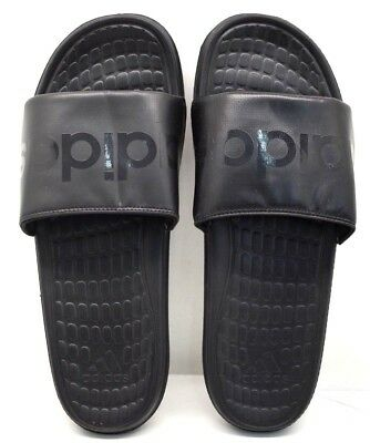17aec37801c56a Adidas Voloomix Slides B36048 Black US Size 11 - FREE SHIPPING - BRAND NEW