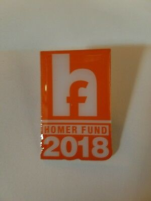 Home Depot 2018 Homer Fund Pin