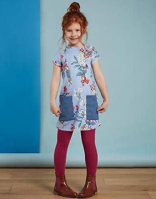 Joules Official Peter Rabbit™ Movie Collection Denim Dress in Beatrix