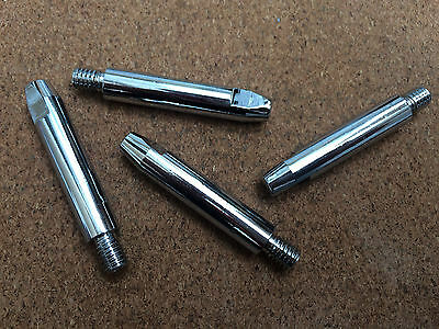 Binzel 1mm Mig Contact Tip M6 Chrome Plated 48mm Extra Long Multi Qty