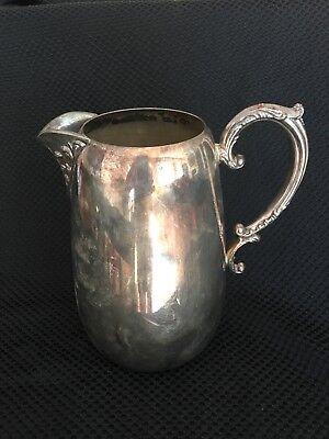 William Rogers Silver Water Pitcher 917