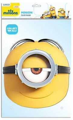 Despicable Me Party-Mask Minion Stuart