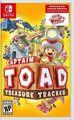 Captian Toad: Treasure Tracker for Nintendo Switch [New Switch]