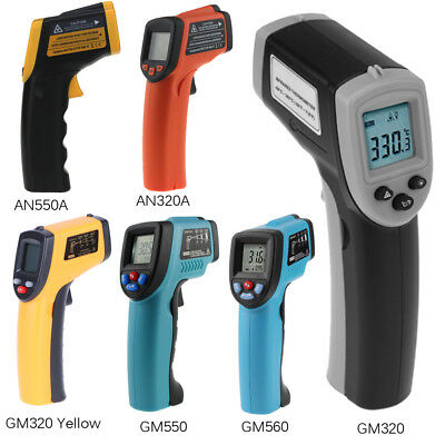 AN320/AN550A/GM550 Non-contact Infrared Digital LCD Thermometer Temperature Gun